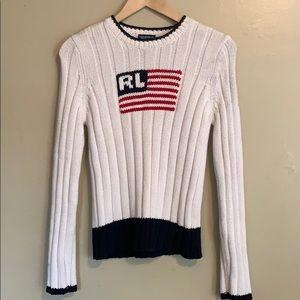 Ralph Lauren | Flag Sweater | Medium M
